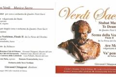 Concerto monografico dal titolo 'VERDI SACRO'
