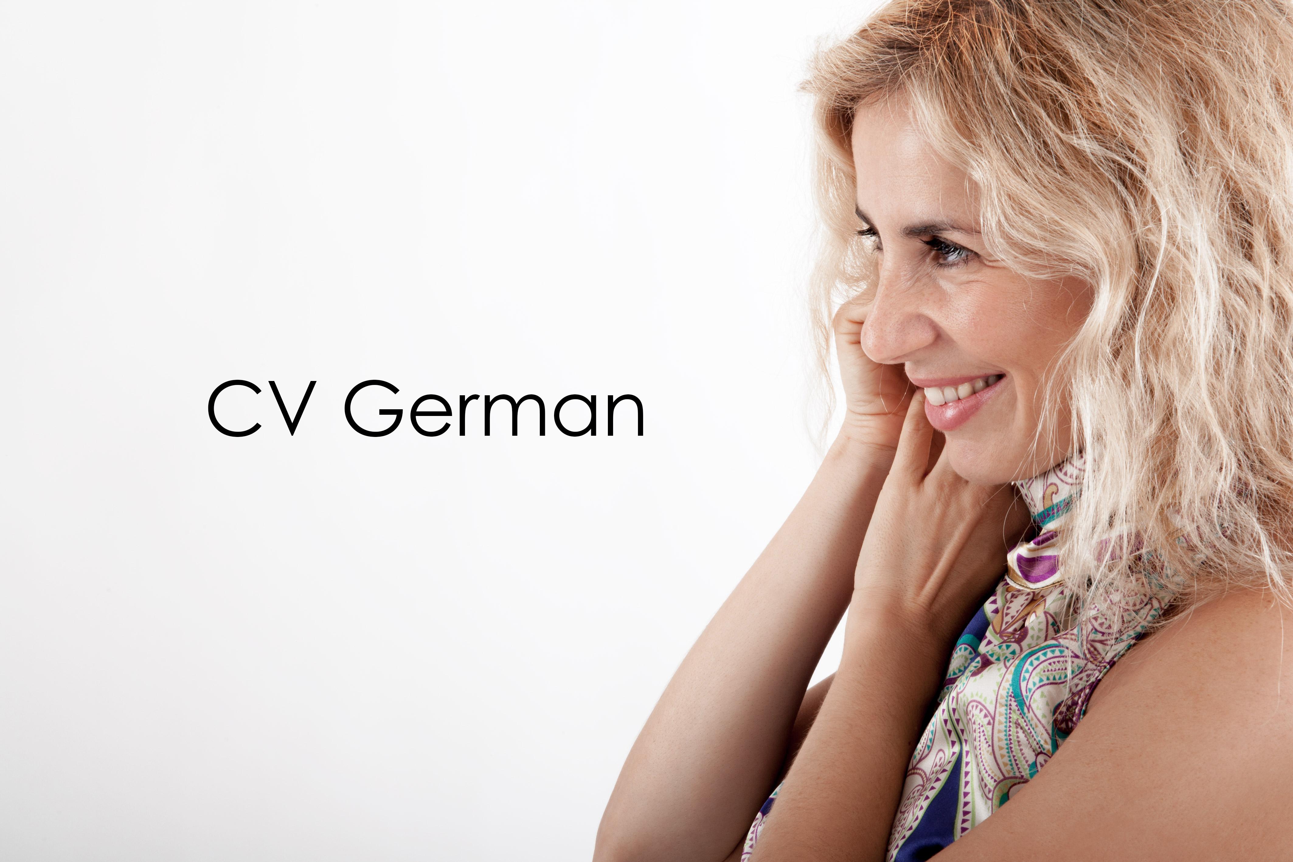 cv-german
